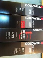 5 x GOLDWELL TOPCHIC HAIR ALL COLOUR 60ML ( TRACKING NUMBER )