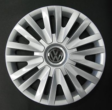 "Volkswagen Golf 6, 5, Polo 5 Style ONE 15"" Wheel Trim Hub Cap Cover VW 490AT"