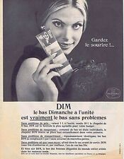 PUBLICITE ADVERTISING 1965 035 DIM le bas dimanche à l'unité 1