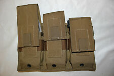NEW US Military Issue Specter COYOTE Magazine Pouch  MOLLE ak ar SR25 Lot of 2