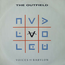 """7"""" 1989 ROCK IN MINT-! THE OUTFIELD : Voices Of Babylon"""