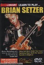 Lezioni DVD Chitarra, Brian Setzer LICK LIBRARY Stay Cars / Lezioni Tutore