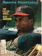 1971 7/5 Sports Illustrated,magazine,Baseball,Alex Johnson, California Angels~FR