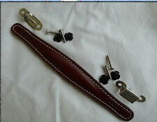 PENN ELCON VINTAGE AMPLIFIER HANDLE BROWN LEATHER FOR FENDER AMP AH1