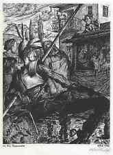 DON QUIJOTEs PUPPENSPIEL - Handsigniert - Werner LUFT 1940 - GURLITT-Verlag
