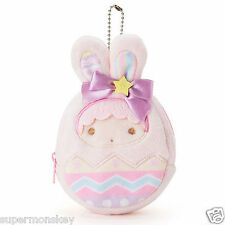 SANRIO LITTLE TWIN STARS LALA EASTER EGG PLUSH DOLL BAG / PURSES 293890