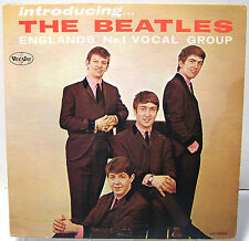 LP - The Beatles - Introducing The Beatles - VJ 1062