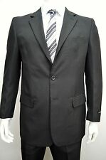 Men's Classic Fit Black Dress Suit Size 52L NEW Suit