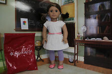 """American Girl Isabelle """"Metallic Tunic Tee Shirt Outfit"""" (2ND EDITION) - NIP"""