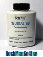 Ben Nye Neutral Set Colorless Powder 3 oz Bottle Authentic Setting Face Makeup