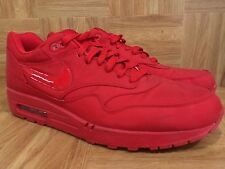 RARE!�� Nike Air Max 1 Sport Red Attack Pack 308866-600 Sz 13 EXCELLENT! Red Oct