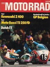 M7614 + Test KAWASAKI Z 400 + Test MOTO GUZZI TS 250 FD + DAS MOTORRAD 14/1976
