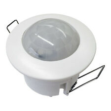 360 Degree Recessed PIR Ceiling Occupancy Motion Sensor Detector Light