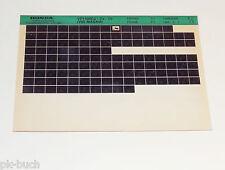 Microfich Ersatzteilkatalog Honda VF 1100 C / C / C V65 Magna Stand 05/1984