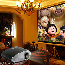 Portable Mini Home Multimedia Cinema HD 1080P LED Projector HDMI/USB/VGA/AV/TV