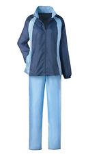 2 PC NAVY JACKET & BLUE PANTS Jogging Suit Set Size XL New Machine Wash REG $60