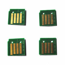 4pc Toner Cartridge Chip for Xerox Workcentre 7120 7125 7220 7225 (006R01461-64)