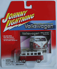 Johnny Lightning – VW Bus T1 Samba weinrot/weiß Neu/OVP