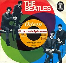"♫ 7"" 1965 The Beatles ROCK AND ROLL MUSIC Odeon 922915 YELLOW LABELS Swiss Club♫"