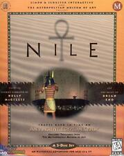 Nile: An Ancient Egyptian Quest PC CD explore Giza pyramids Pharaohs puzzle game