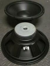"NEW (2) 12"" SubWoofer Speakers.8 ohm.Twelve inch Bass.Woofer PAIR.Sub Driver"