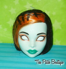 MONSTER HIGH FREAKY FUSION SCARAH SCREAMS TORALEI DOLL REPLACEMENT HEAD ONLY