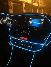 Crystal Blue 5 Meter Interior Refit Atmosphere Car Styling EL light