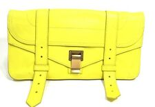Proenza Schouler Yellow Leather PS1 Pochette Clutch