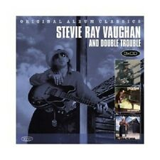 STEVIE RAY VAUGHAN - ORIGINAL ALBUM CLASSICS  (SOUL TO SOUL/+)  3 CD  NEU