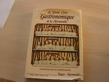 livre  de cuisine ancien les toques normandes