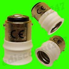 HIGH QUALITY SBC B15 to SES E14 Adaptor Socket Converter UK SELLER FAST DISPATCH