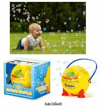 Kids Automatic Bubble Blower Machine Baby Christmas Gift Stocking Filler Fun Toy