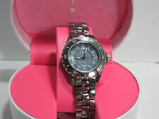 Isaac Mizrahi Live! Ceramic Watch with Mother-of-Pearl Dial   Hematine  Small