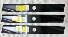 "Set 3 Kubota 72"" heavy duty XHT mower blades 70000-25002 RC72 B2150D F2560 F3060"