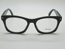 NEW Authentic PRADA VPR 11S 1AB-1O1 Black RX 53mm Eyeglasses