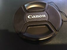 67mm Lens Cap for Canon Lenses f/ 67mm filter size  with capkeeper US
