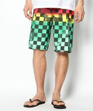 Vans Mens Off The Wall Rasta Swimming/Board Shorts - 38""