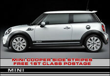 BMW Mini Side Stripes Mini Style, Works S, Premium Vinyl JCW Graphic Cooper One