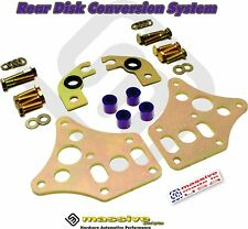 MSS Disk Brake Conversion Kit Rear Focus 99-08 Like SVT Aluminum Caliper Bracket
