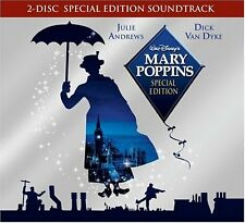 MARY POPPINS CD SOUNDTRACK - 2CD SPECIAL EDITION (2004) - NEW UNOPENED