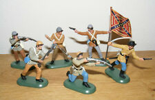 Britains Südstaatler zu Fuß, ACW Confederate Butternut Infantry,  52006, neu