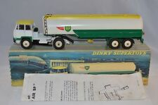 Dinky Toys 887 UNIC Tractor with Air BP Tankwagen near mint in box with leaflat