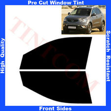 Pre Cut Window Tint SSangYong Korando 5 Doors 2010-... Front Sides Any Shade
