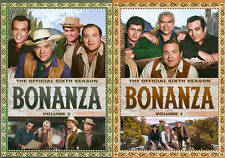 Bonanza: The Official Sixth Season, Vol. 1 and 2 - 2 Pack (DVD, 2013, 9-Disc...