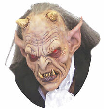 Halloween LifeSize Costume EXODUS DEVIL DEMON LATEX DELUXE MASK Haunted House