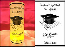 10 Personalized Class Reunion Luminaries Table Centerpieces Party Decorations #1