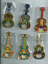 Lot of 19 Hard Rock Cafe  Fridge Magnet Bottle Openers