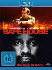 RYAN REYNOLDS,VERA FARMIGA DENZEL WASHINGTON - SAFE HOUSE  BLU-RAY NEU