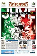 TUTTOSPORT 03/05/2015 JUVENTUS CAMPIONE D'ITALIA SCUDETTO N°33 JUVE SPORT NEW