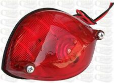 Rear Tail Light 6 volt twin Filament Ideal For Custom Classic Motorcycles